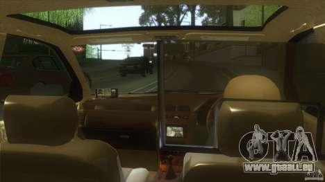 Nissan Cefiro A32 Kouki Japanese Taxi pour GTA San Andreas sur la vue arrière gauche