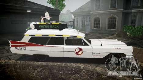 Cadillac Ghostbusters pour GTA 4 Vue arrière