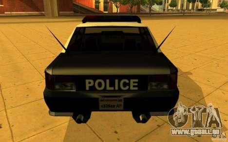 Sultan SFPD pour GTA San Andreas laissé vue