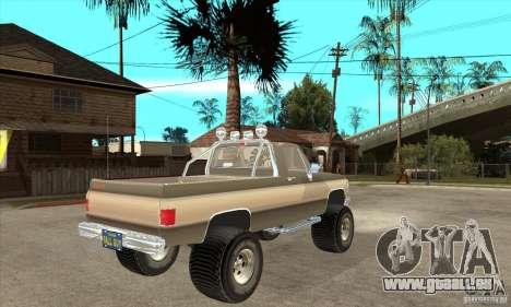 GMC Sierra Grande 1985 für GTA San Andreas rechten Ansicht
