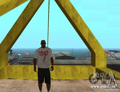 WWE RKO-t-shirt für GTA San Andreas