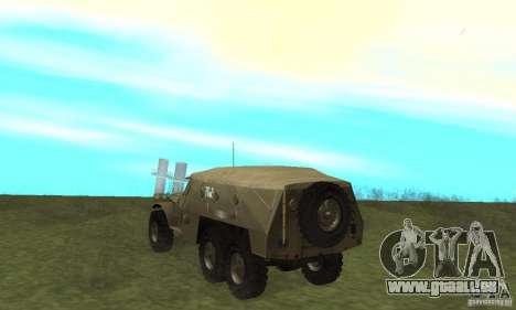 BTR-152 pour GTA San Andreas vue de droite