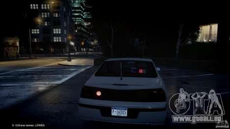 Chevrolet Impala Unmarked Police 2003 v1.0 [ELS] für GTA 4