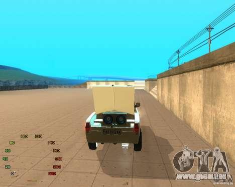 GAZ Volga 2410 el Cabrio für GTA San Andreas rechten Ansicht