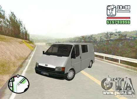 Ford Transit 1999 für GTA San Andreas