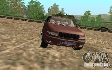 UAZ Patriot für GTA San Andreas Seitenansicht