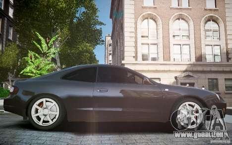 Toyota Celica GT-FOUR pour GTA 4 est une vue de l'intérieur