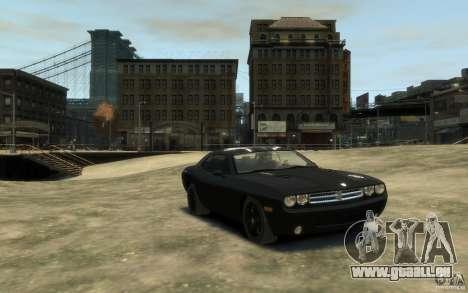 Dodge Challenger Concept Slipknot Edition für GTA 4 Rückansicht