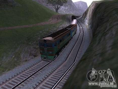 VL8m-750 pour GTA San Andreas laissé vue