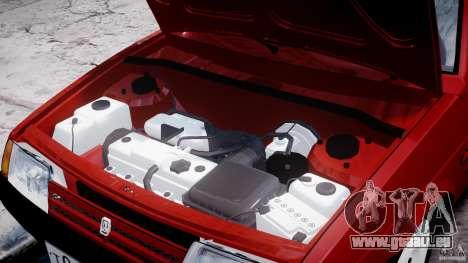 Vaz-21093i pour GTA 4 est un côté
