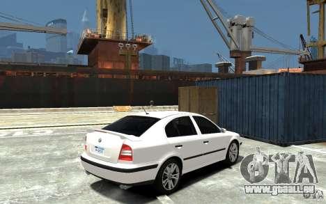 Skoda Octavia v.1.0 für GTA 4 obere Ansicht