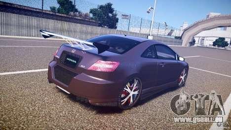 Honda Civic Si Tuning für GTA 4 Seitenansicht