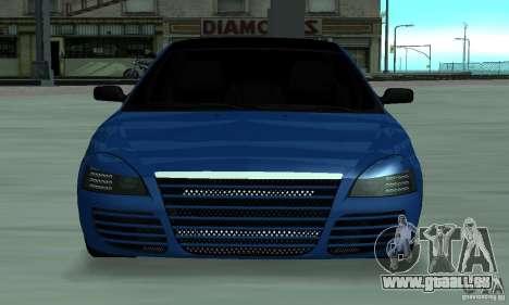 Lada Priora 2012 pour GTA San Andreas laissé vue