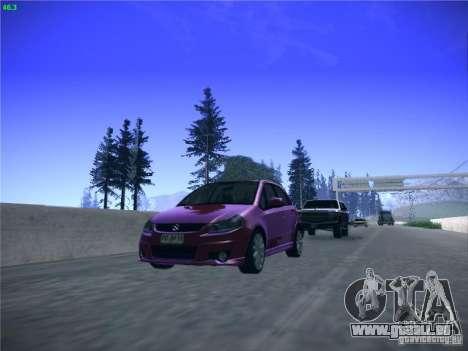 Suzuki SX4 2012 pour GTA San Andreas vue arrière