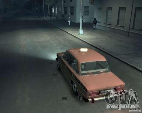 VAZ 2106 Taxi für GTA 4 hinten links Ansicht
