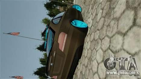 BMW 135i HellaFush pour GTA 4 Vue arrière