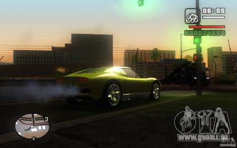 Lamborghini Miura Concept pour GTA San Andreas vue de droite