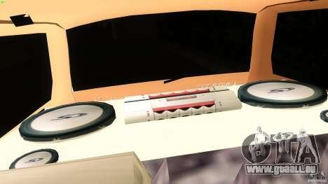 VAZ 2111 pour GTA Vice City vue arrière