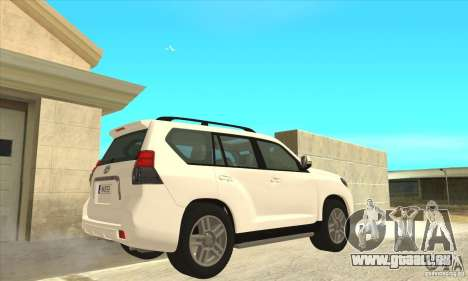 Toyota Land Cruiser Prado 150 pour GTA San Andreas vue de droite