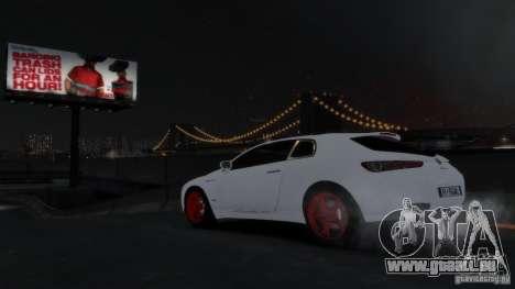 Alfa Romeo Brera Italia Independent 2009 v1.1 für GTA 4 linke Ansicht