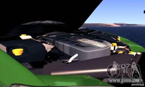 Subaru Legacy 2004 v1.0 pour GTA San Andreas vue intérieure