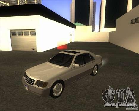 Mercedes Benz 400 SE W140 pour GTA San Andreas