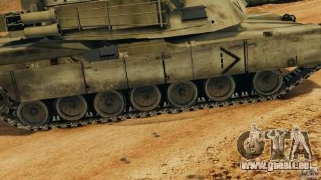 M1A2 Abrams pour GTA 4 Salon