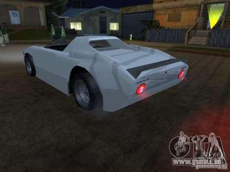 Cup Car pour GTA San Andreas laissé vue