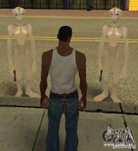 Nouveaux arrivants de GROVE pour GTA San Andreas