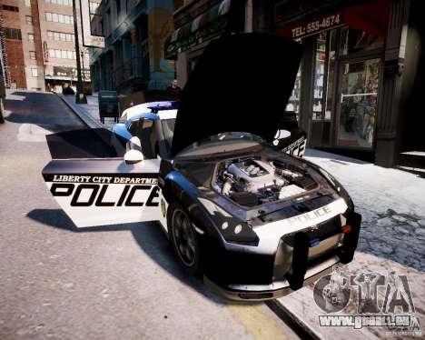 Nissan Spec GT-R Enforcer pour GTA 4 est un droit