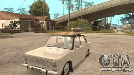 VAZ 2101 Dag pour GTA San Andreas vue intérieure