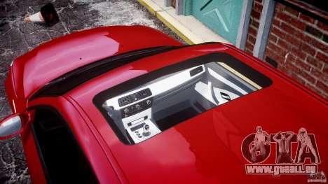 BMW M5 E60 2009 pour GTA 4 est un côté
