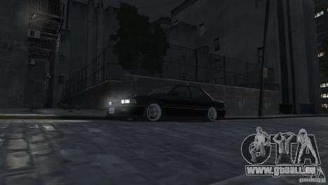 Mitsubishi Galant Stance pour GTA 4 est une vue de l'intérieur