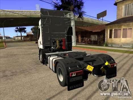 Renault Premium pour GTA San Andreas laissé vue