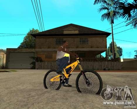 Nox Startrack DH 9.5 für GTA San Andreas rechten Ansicht