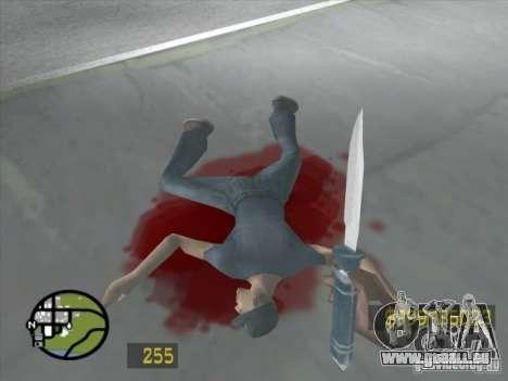 Un peu comme le Counter Strike pour GTA San Andr pour GTA San Andreas sixième écran