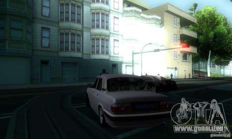GAZ Volga 31105 Procureur pour GTA San Andreas vue arrière