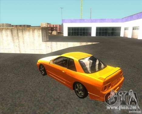 Nissan Skyline R32 GTS-T type-M pour GTA San Andreas laissé vue
