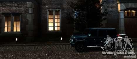 Mercedes-Benz G65 AMG [W463] 2012 für GTA 4 Unteransicht