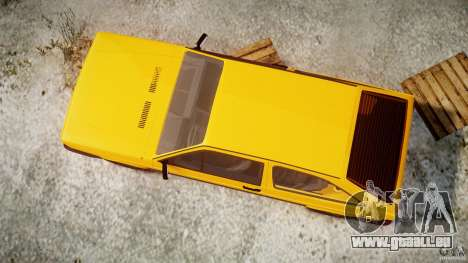 Volkswagen Gol GL pour GTA 4 est un côté