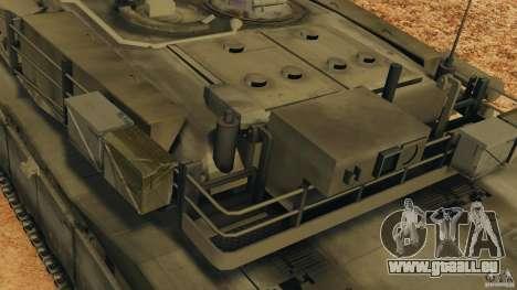 M1A2 Abrams pour GTA 4 roues