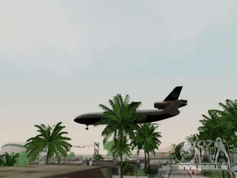McDonell Douglas DC-10-30 British Airways für GTA San Andreas Innenansicht