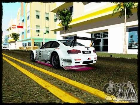 BMW M3 GT2 pour une vue GTA Vice City de l'intérieur