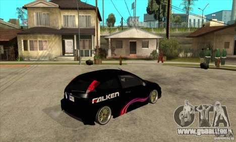 Ford Focus SVT pour GTA San Andreas vue de droite