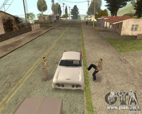 More Hostile Gangs 1.0 für GTA San Andreas achten Screenshot