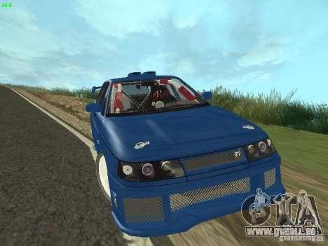 VAZ 2110 ADT Tuning pour GTA San Andreas vue arrière