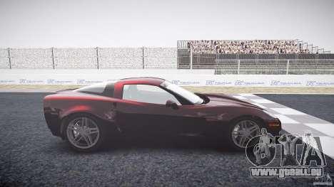 Chevrolet Corvette C6 Z06 für GTA 4 linke Ansicht