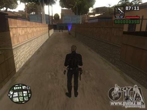 Wesker de RE5 pour GTA San Andreas cinquième écran