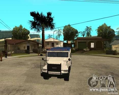 NSTOCKADE von GTA IV für GTA San Andreas Rückansicht