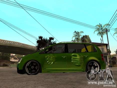 Volkswagen Touran The Hulk für GTA San Andreas linke Ansicht